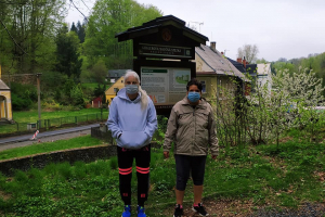 Dnešní procházka k prameni Krásný Buk 🚶🚶🚶👍💯 PIB. u Irena Chtoustovská 🍀🌹