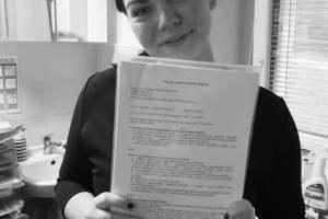 Naše nová Dobrovolnice 👍🙂 Amálie Burianová, šikovná, obětavá, empatická, chytrá a krásná Amálka. 🙂🌹🌹🌹