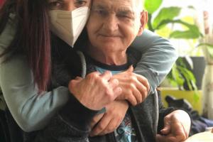 Velká oslava narozenin našeho Pavlíka Duška, krásných 73 👍🥰🌹🍀 na Vyhlídce PII. u Ilona Kunast Fruhaufova 🌹🍀🌹💯